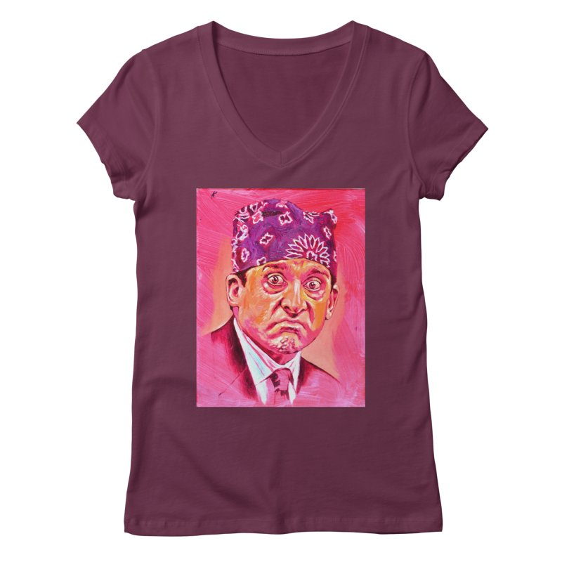 "prison mike Women's Regular V-Neck by Art Prints by Seama available under ""Home"""