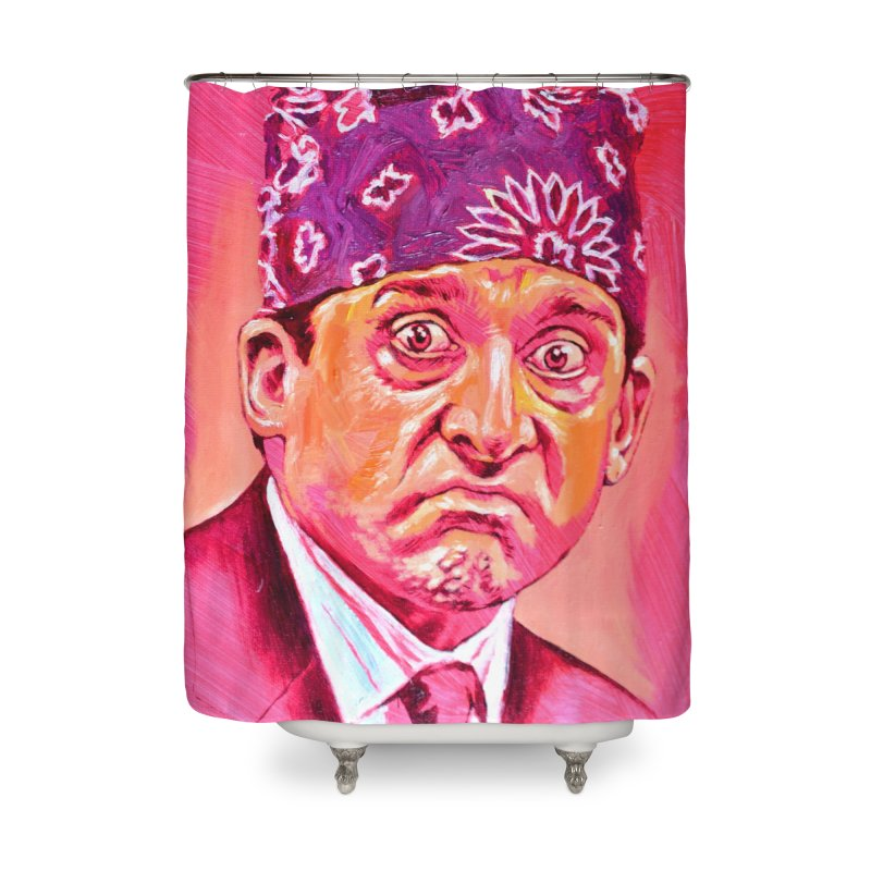 """prison mike Home Shower Curtain by Art Prints by Seama available under """"Home"""""""