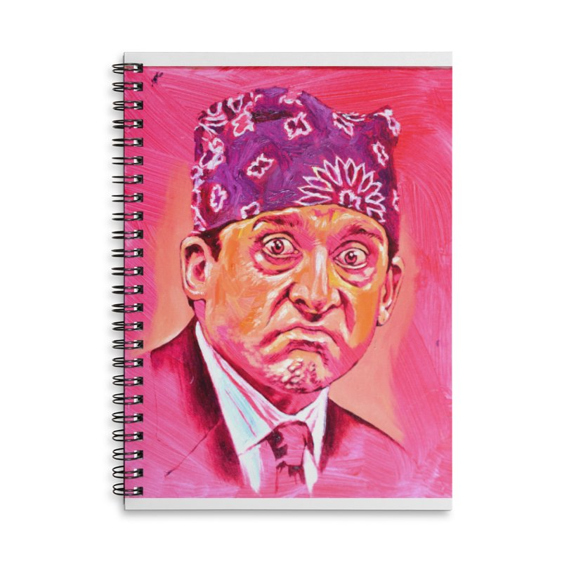 """prison mike Accessories Lined Spiral Notebook by Art Prints by Seama available under """"Home"""""""