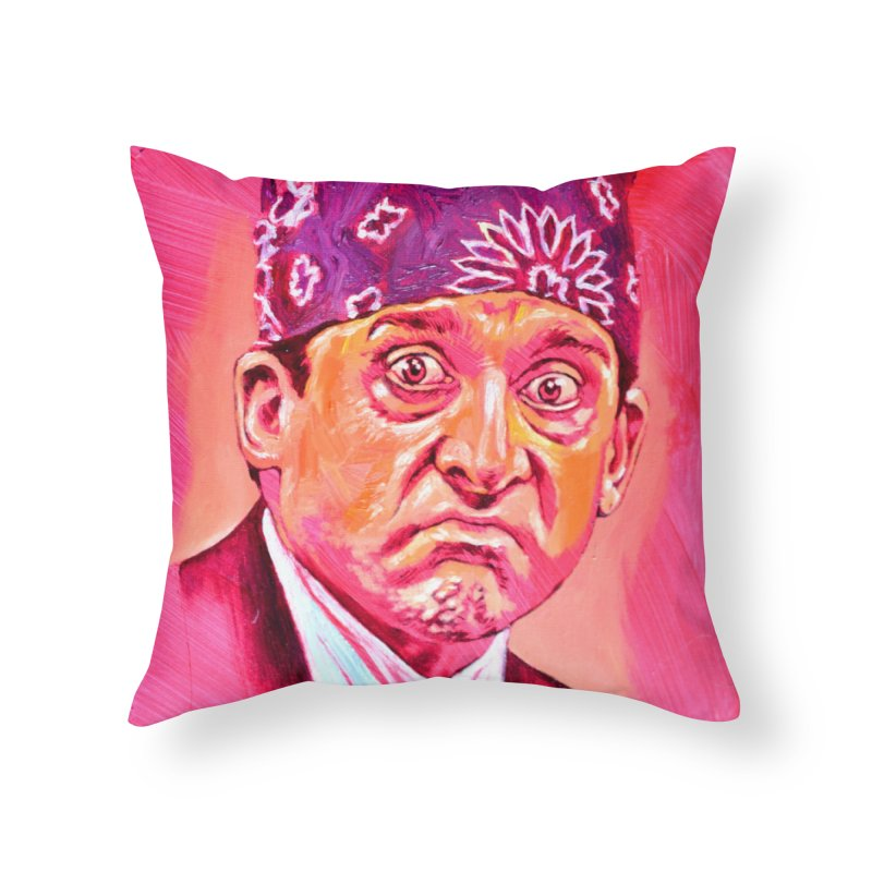 "prison mike Home Throw Pillow by Art Prints by Seama available under ""Home"""