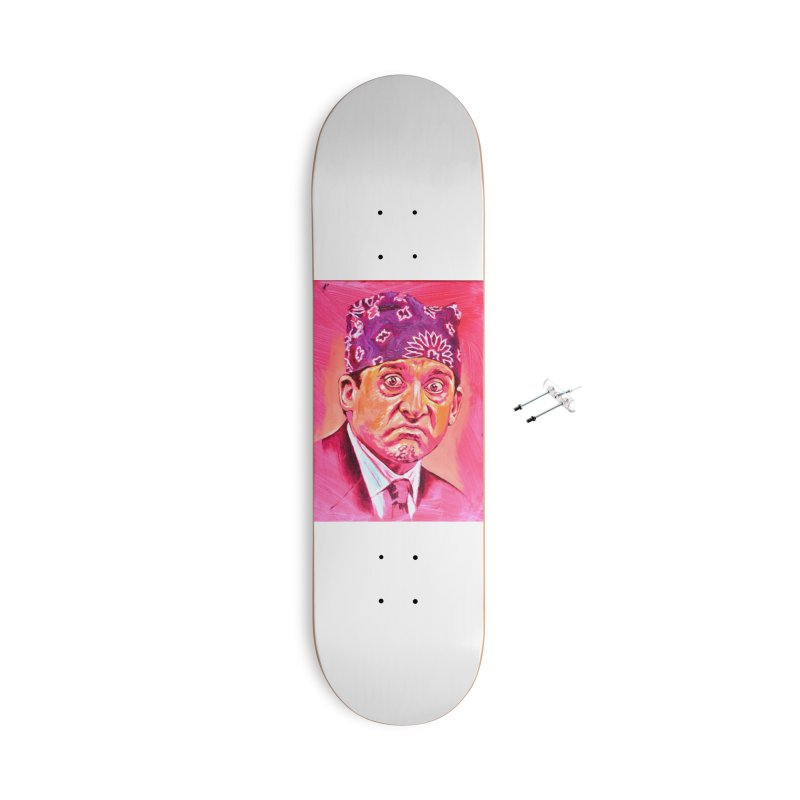 "prison mike Accessories With Hanging Hardware Skateboard by Art Prints by Seama available under ""Home"""