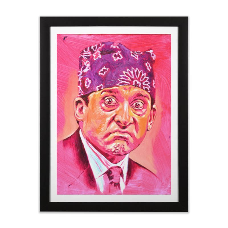 """prison mike Home Framed Fine Art Print by Art Prints by Seama available under """"Home"""""""