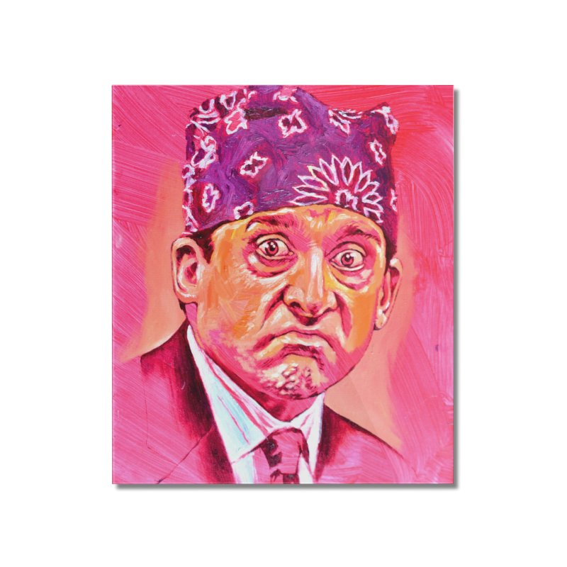 "prison mike Home Mounted Acrylic Print by Art Prints by Seama available under ""Home"""
