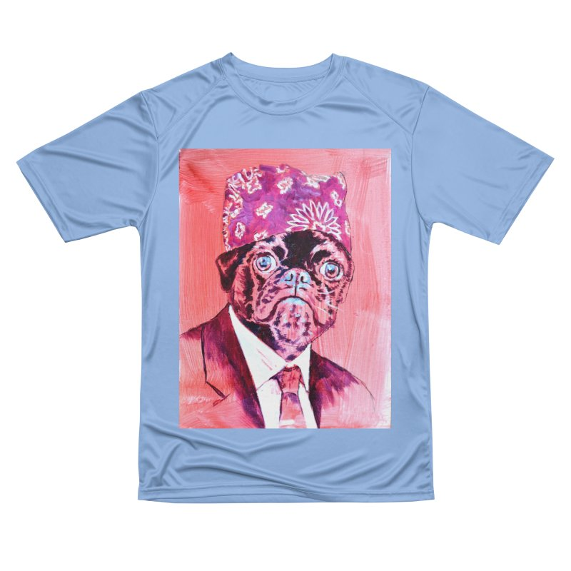 """pug mike Women's T-Shirt by Art Prints by Seamus Wray available under """"Home"""""""