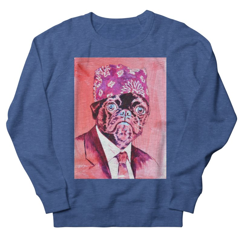 """pug mike Men's Sweatshirt by Art Prints by Seamus Wray available under """"Home"""""""