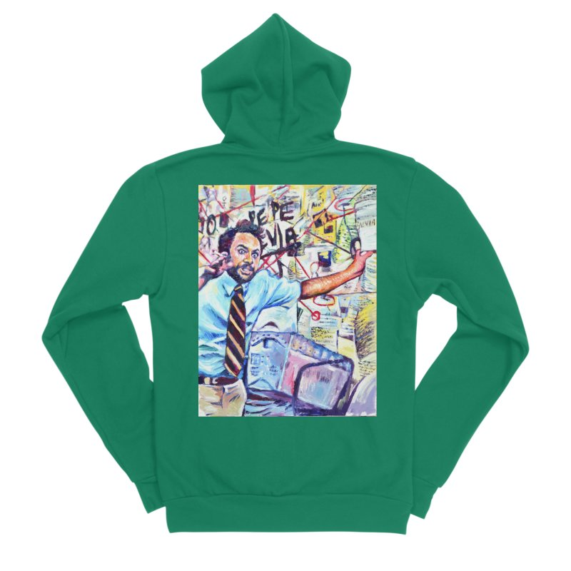 "pepe silvia Men's Sponge Fleece Zip-Up Hoody by Art Prints by Seama available under ""Home"""