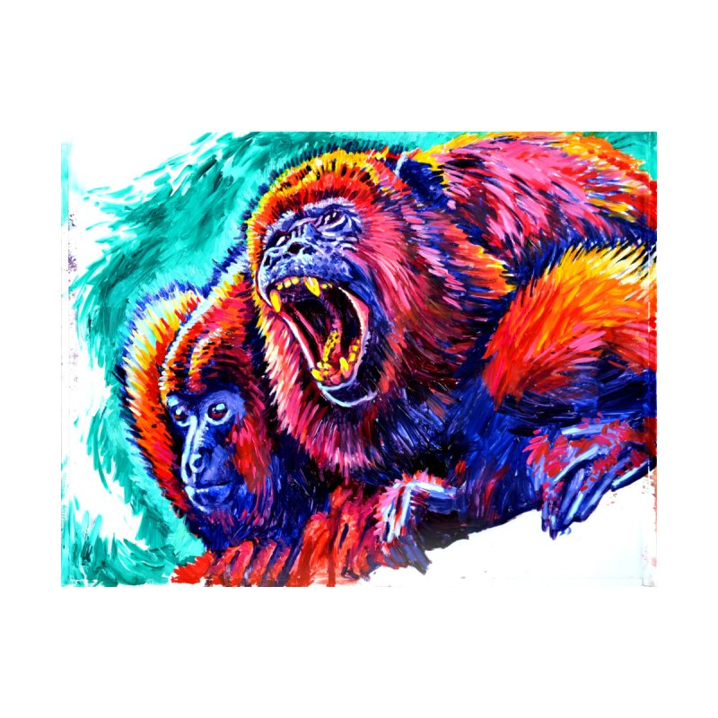 """howl Men's Zip-Up Hoody by Art Prints by Seamus Wray available under """"Home"""""""