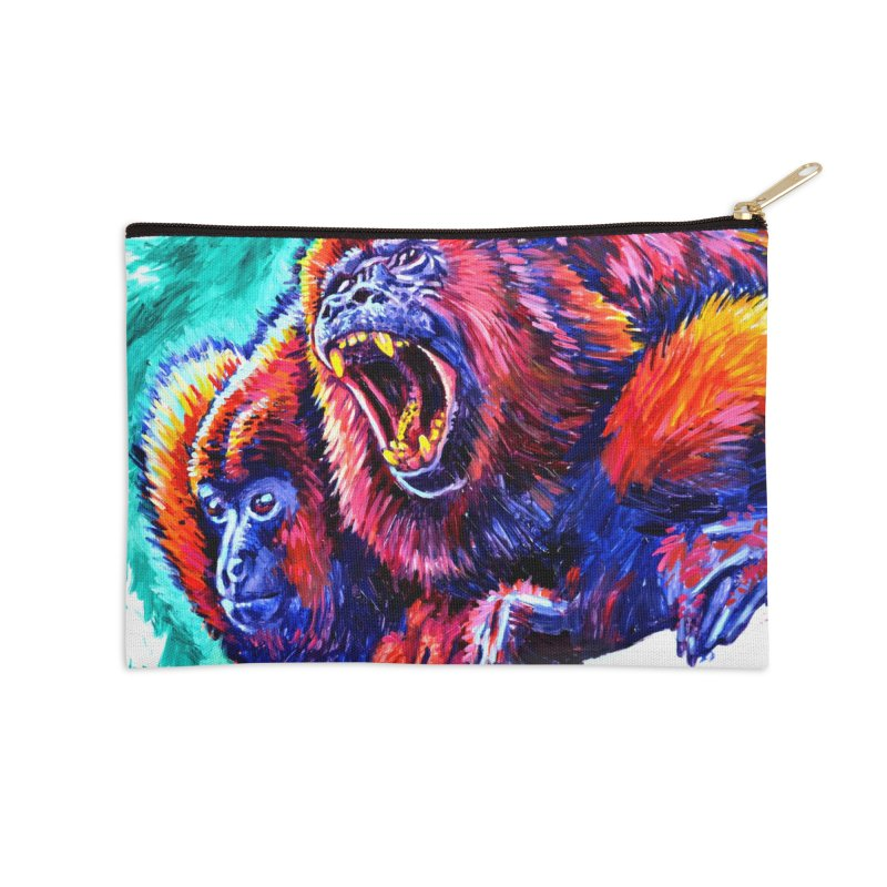 """howl Accessories Zip Pouch by Art Prints by Seamus Wray available under """"Home"""""""