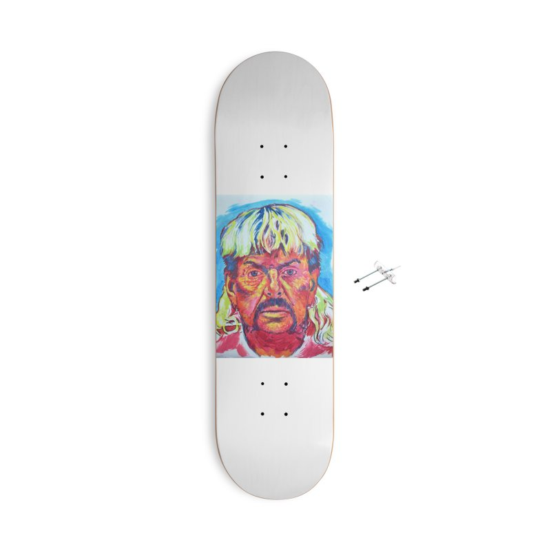 """exotic Accessories Skateboard by Art Prints by Seamus Wray available under """"Home"""""""