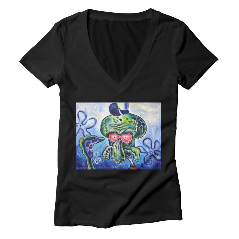 """sure Women's V-Neck by Art Prints by Seamus Wray available under """"Home"""""""