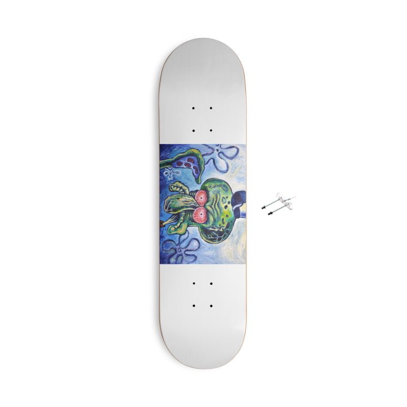 """sure Accessories Skateboard by Art Prints by Seamus Wray available under """"Home"""""""