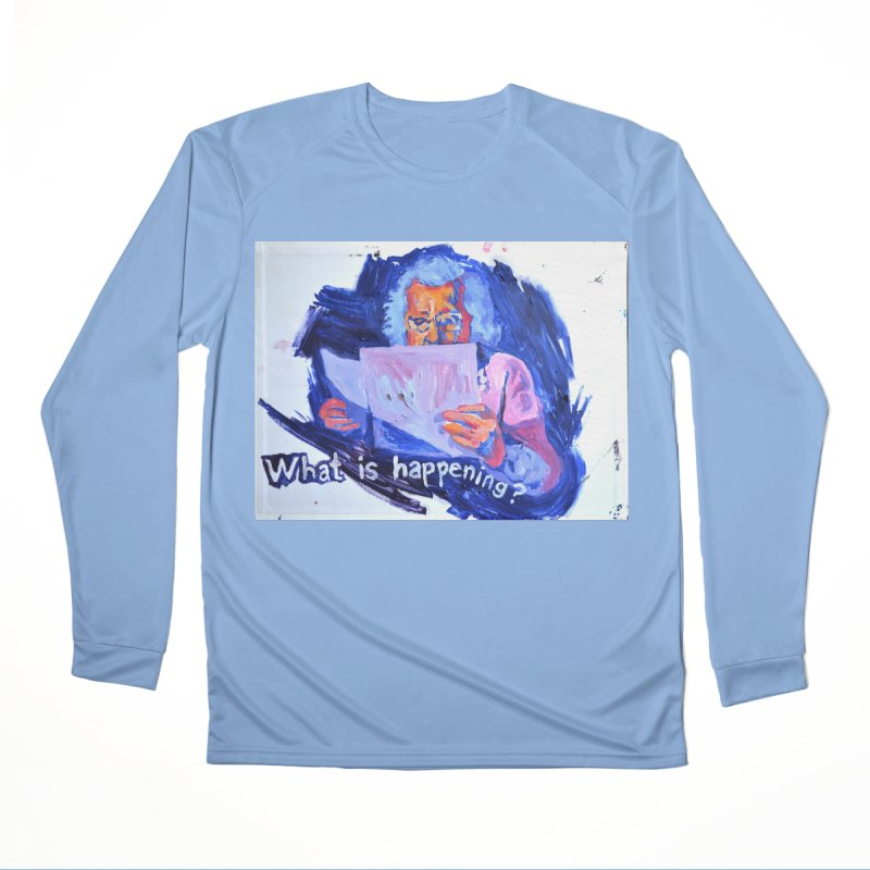 """what Men's Longsleeve T-Shirt by Art Prints by Seama available under """"Home"""""""