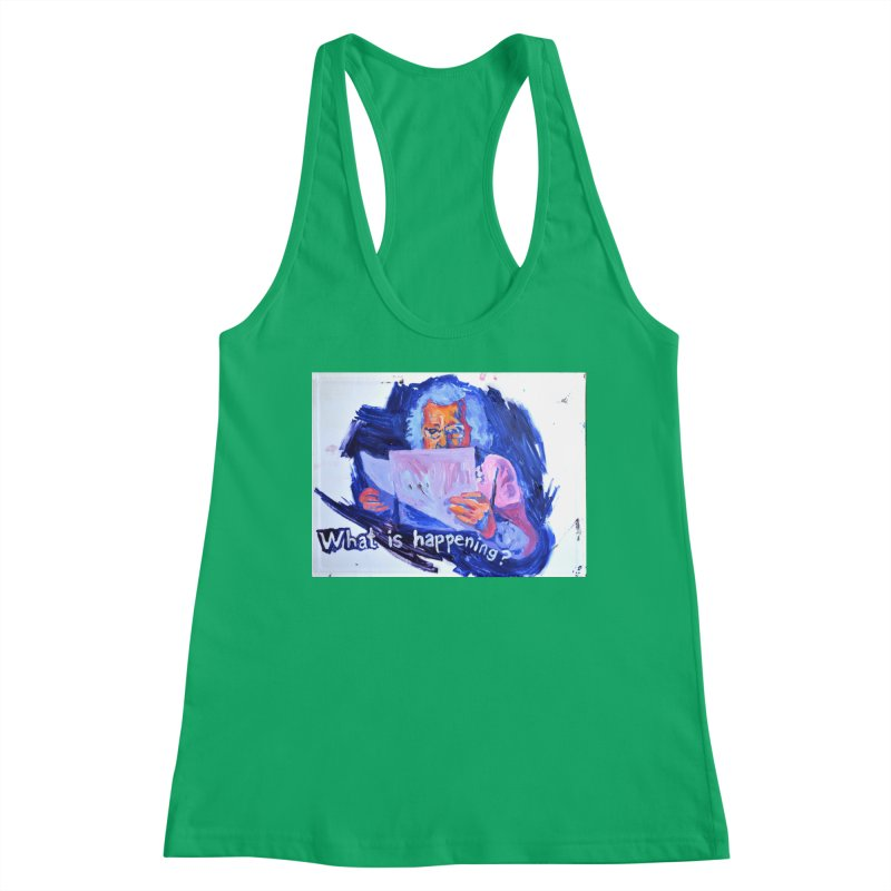 """what Women's Tank by Art Prints by Seamus Wray available under """"Home"""""""