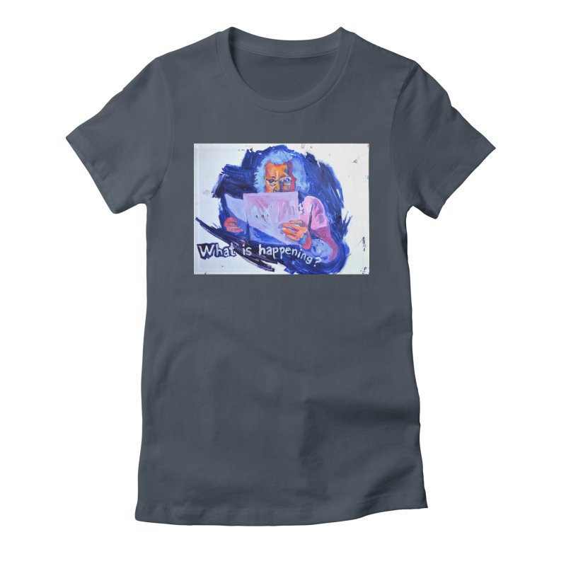 """what Women's T-Shirt by Art Prints by Seamus Wray available under """"Home"""""""