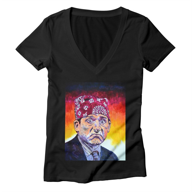 "dementors Women's V-Neck by Art Prints by Seama available under ""Home"""
