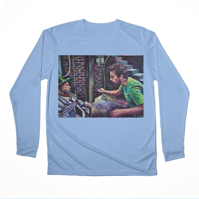"""wrong basement Men's Longsleeve T-Shirt by Art Prints by Seama available under """"Home"""""""