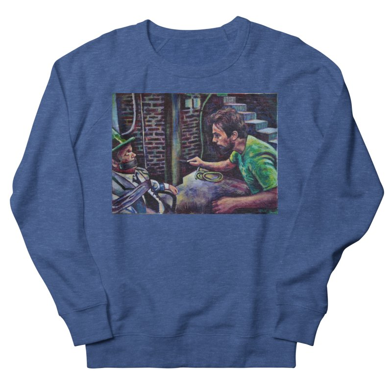 """wrong basement Men's Sweatshirt by Art Prints by Seamus Wray available under """"Home"""""""