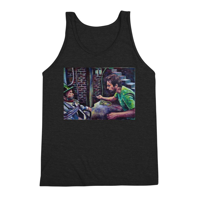 """wrong basement Men's Tank by Art Prints by Seamus Wray available under """"Home"""""""