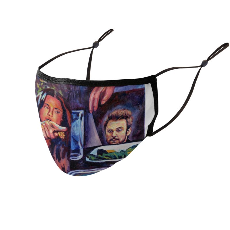 """charlie cat Accessories Face Mask by Art Prints by Seamus Wray available under """"Home"""""""