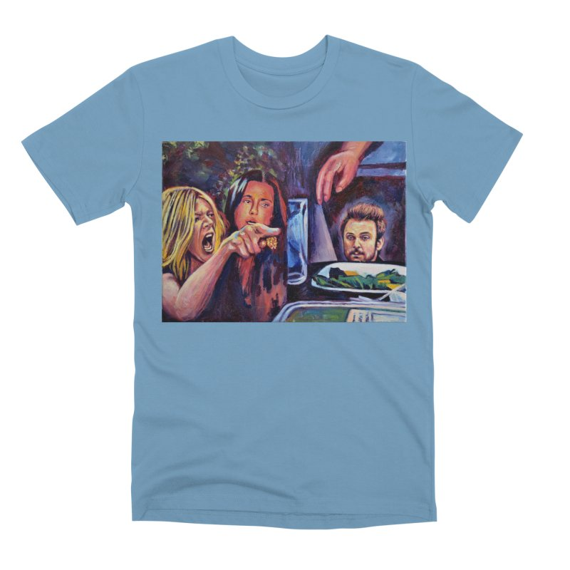 """charlie cat Men's T-Shirt by Art Prints by Seamus Wray available under """"Home"""""""