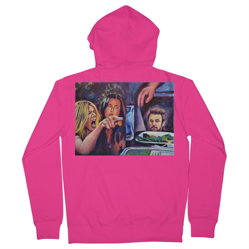 """charlie cat Men's Zip-Up Hoody by Art Prints by Seamus Wray available under """"Home"""""""