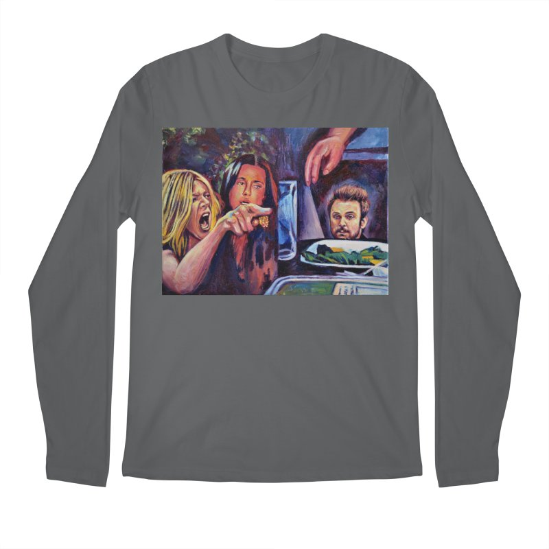 """charlie cat Men's Longsleeve T-Shirt by Art Prints by Seamus Wray available under """"Home"""""""