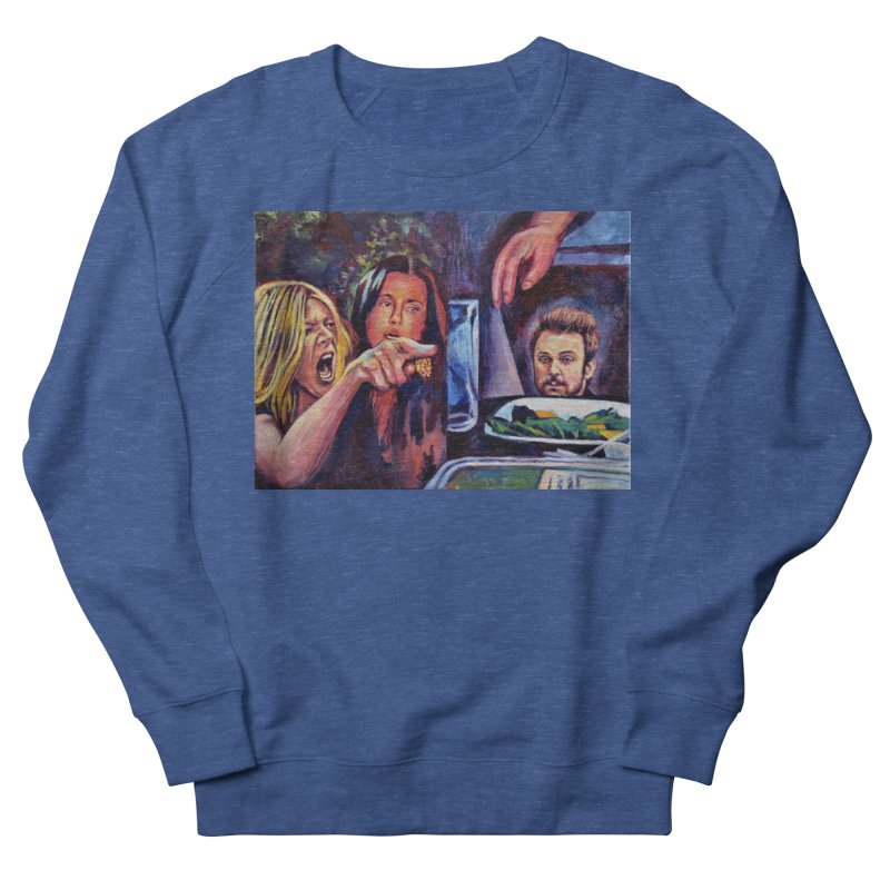 """charlie cat Men's Sweatshirt by Art Prints by Seamus Wray available under """"Home"""""""