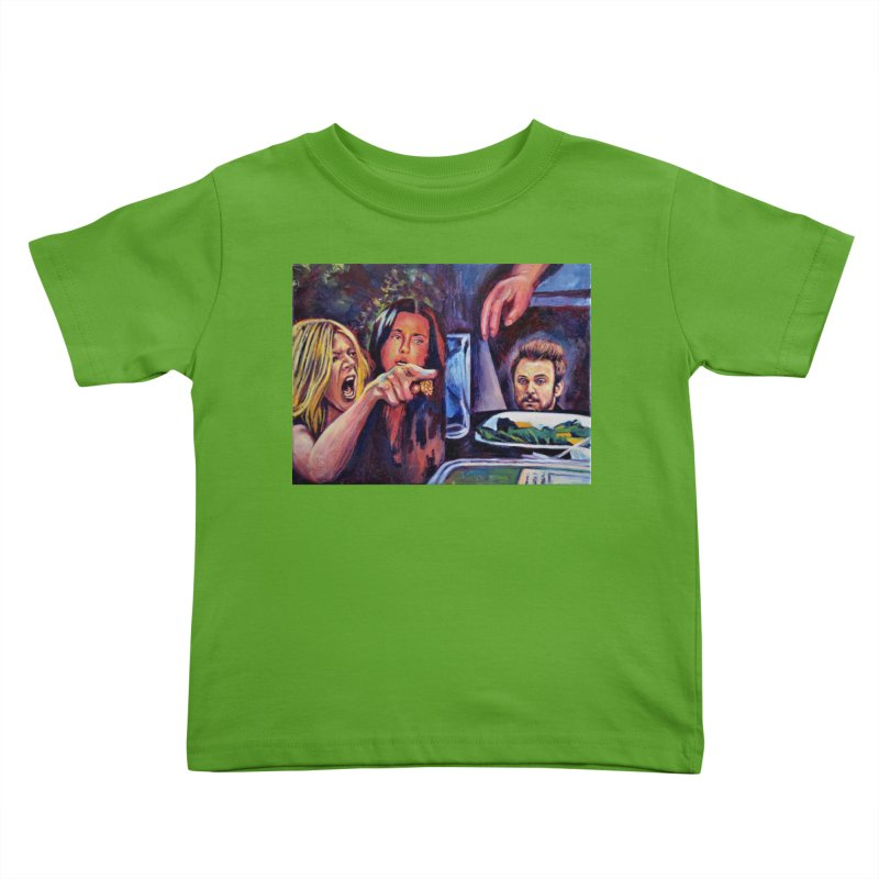 """charlie cat Kids Toddler T-Shirt by Art Prints by Seamus Wray available under """"Home"""""""