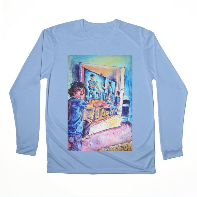 """selfportraitception Men's Longsleeve T-Shirt by Art Prints by Seama available under """"Home"""""""