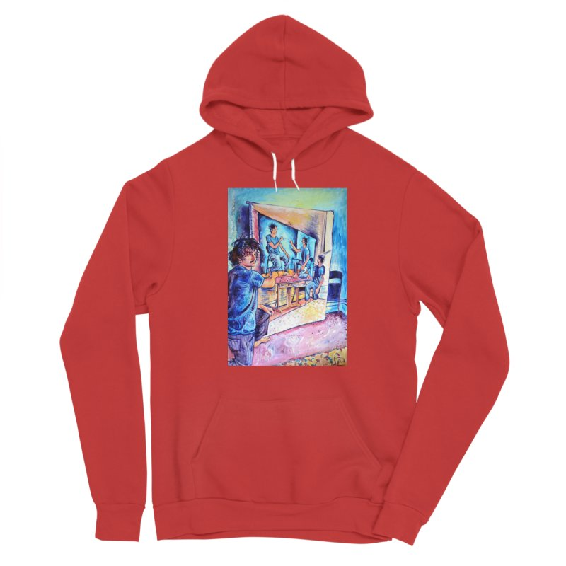 """selfportraitception Men's Pullover Hoody by Art Prints by Seamus Wray available under """"Home"""""""