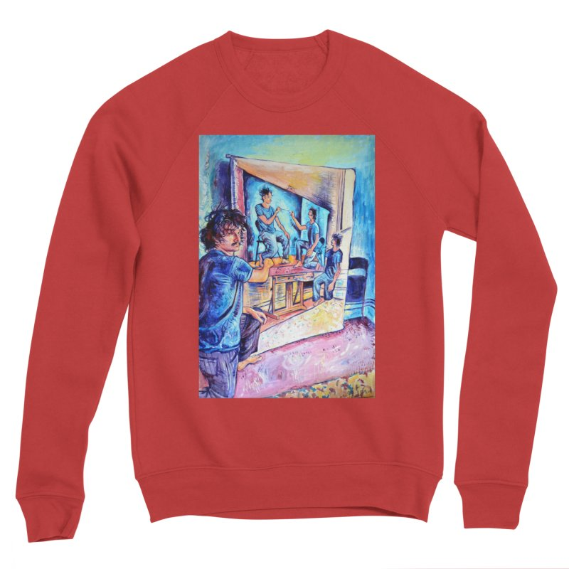"""selfportraitception Women's Sweatshirt by Art Prints by Seamus Wray available under """"Home"""""""
