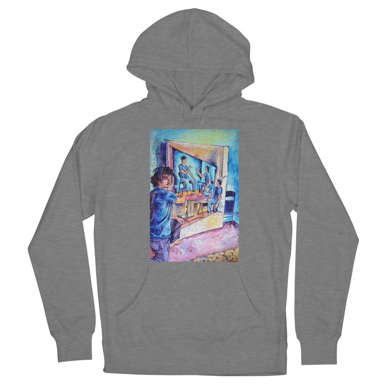 """selfportraitception Women's Pullover Hoody by Art Prints by Seamus Wray available under """"Home"""""""