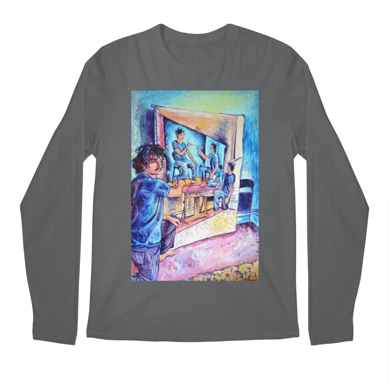 """selfportraitception Men's Longsleeve T-Shirt by Art Prints by Seamus Wray available under """"Home"""""""