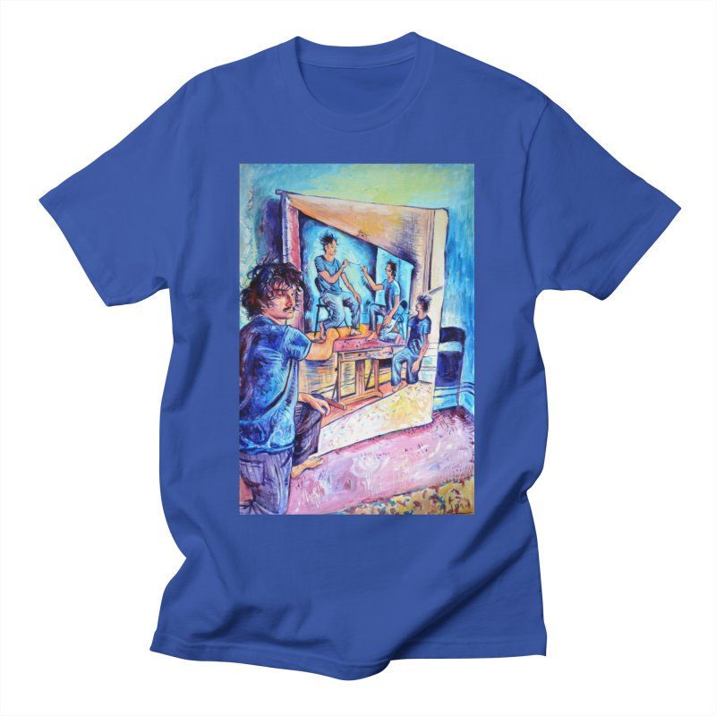 """selfportraitception Men's T-Shirt by Art Prints by Seamus Wray available under """"Home"""""""