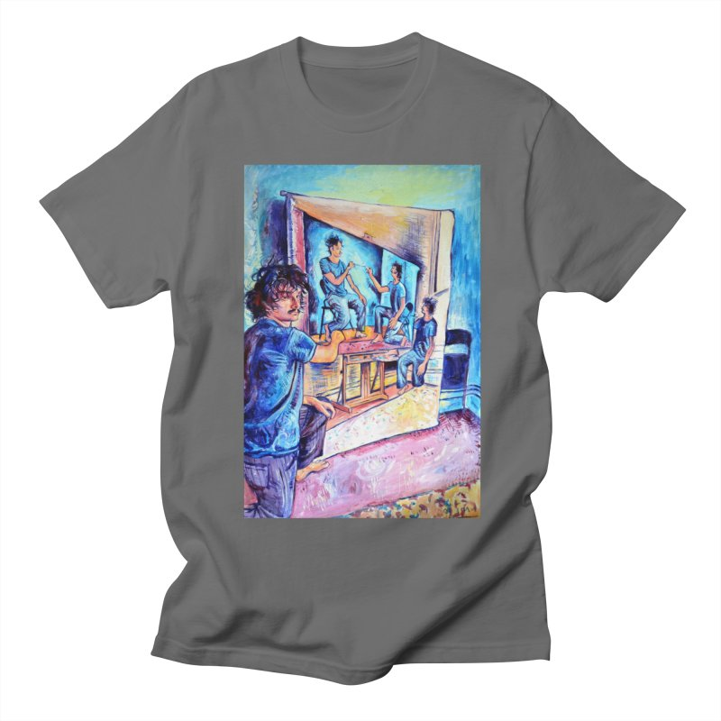 "selfportraitception Men's T-Shirt by Art Prints by Seamus Wray available under ""Home"""
