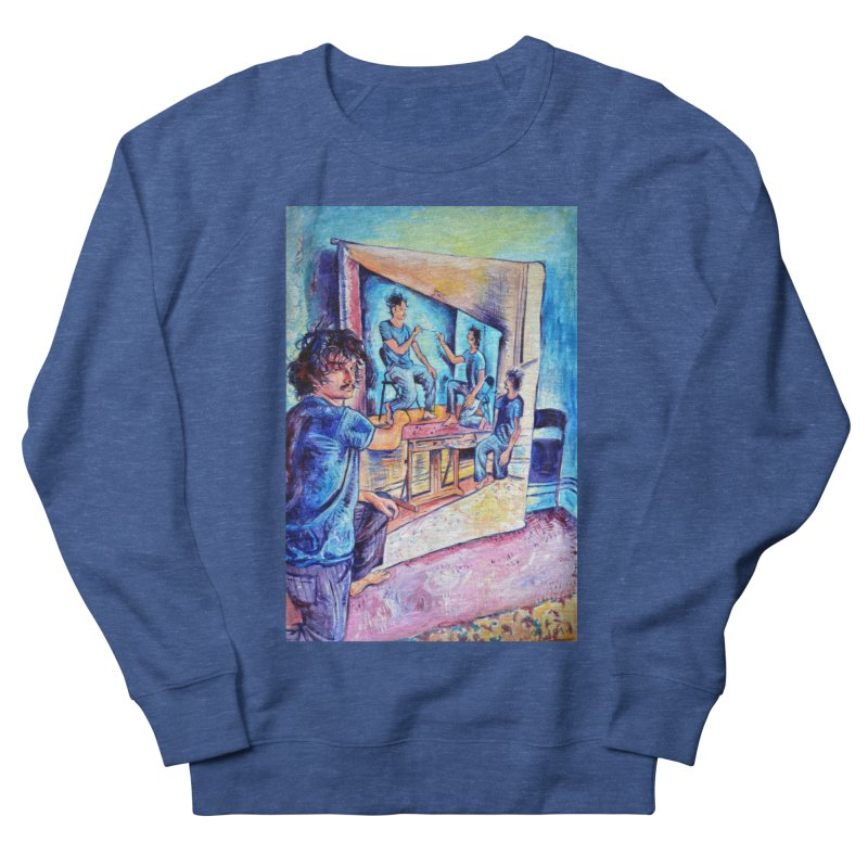 """selfportraitception Men's Sweatshirt by Art Prints by Seamus Wray available under """"Home"""""""