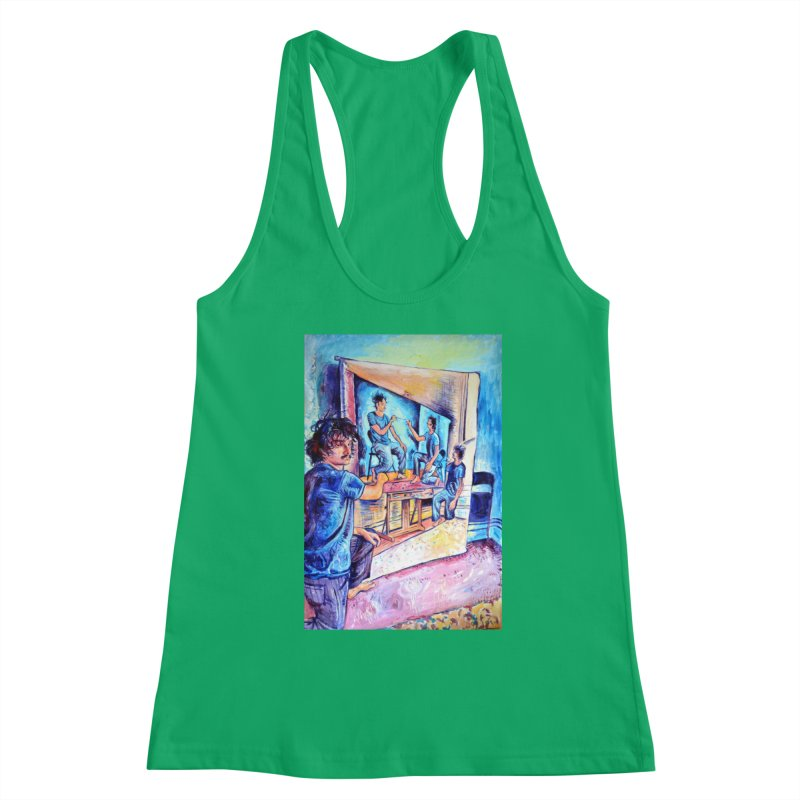 """selfportraitception Women's Tank by Art Prints by Seama available under """"Home"""""""