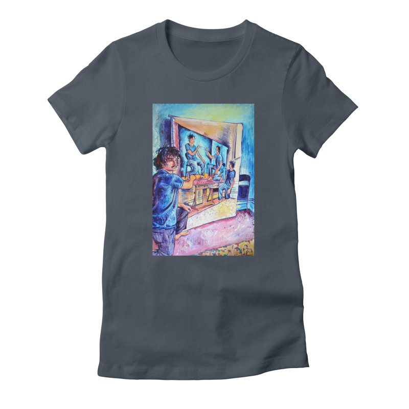 """selfportraitception Women's T-Shirt by Art Prints by Seamus Wray available under """"Home"""""""