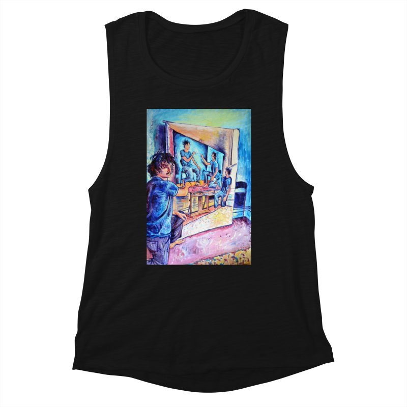 """selfportraitception Women's Tank by Art Prints by Seamus Wray available under """"Home"""""""