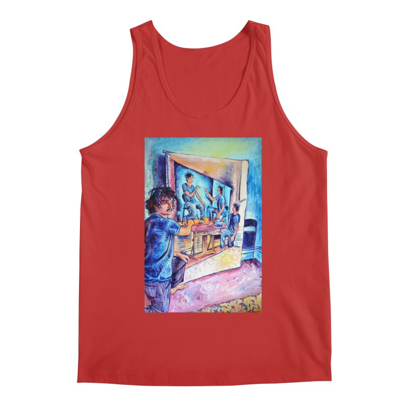 """selfportraitception Men's Tank by Art Prints by Seamus Wray available under """"Home"""""""