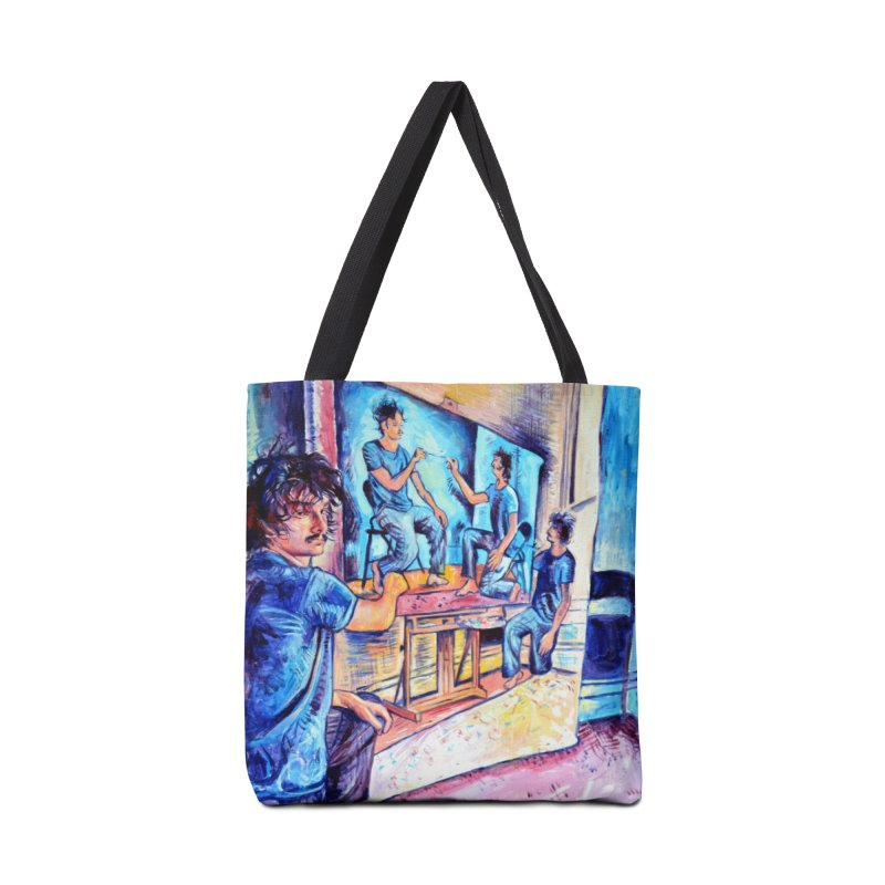 "selfportraitception Accessories Bag by Art Prints by Seama available under ""Home"""
