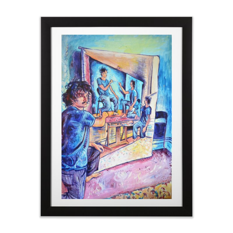"""selfportraitception Home Framed Fine Art Print by Art Prints by Seamus Wray available under """"Home"""""""