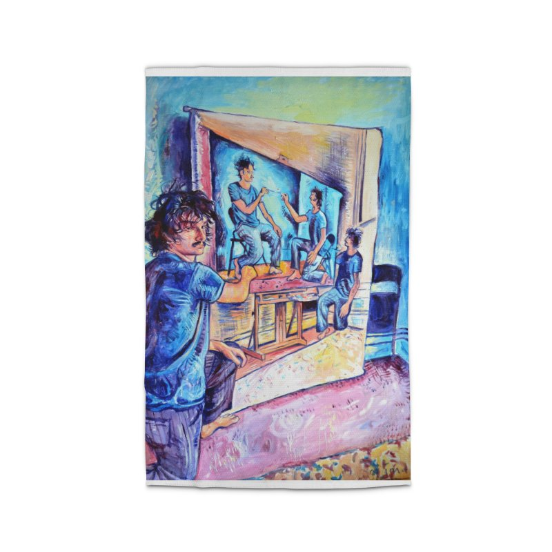 """selfportraitception Home Rug by Art Prints by Seamus Wray available under """"Home"""""""