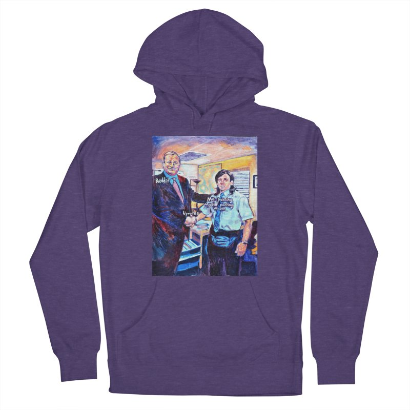 """painting myself meme Women's Pullover Hoody by Art Prints by Seamus Wray available under """"Home"""""""