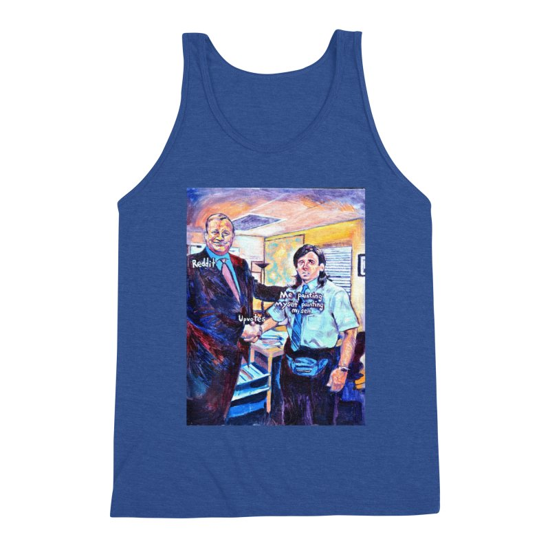 """painting myself meme Men's Tank by Art Prints by Seamus Wray available under """"Home"""""""