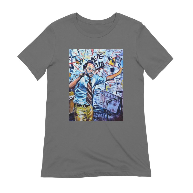 """boxes Women's T-Shirt by Art Prints by Seamus Wray available under """"Home"""""""