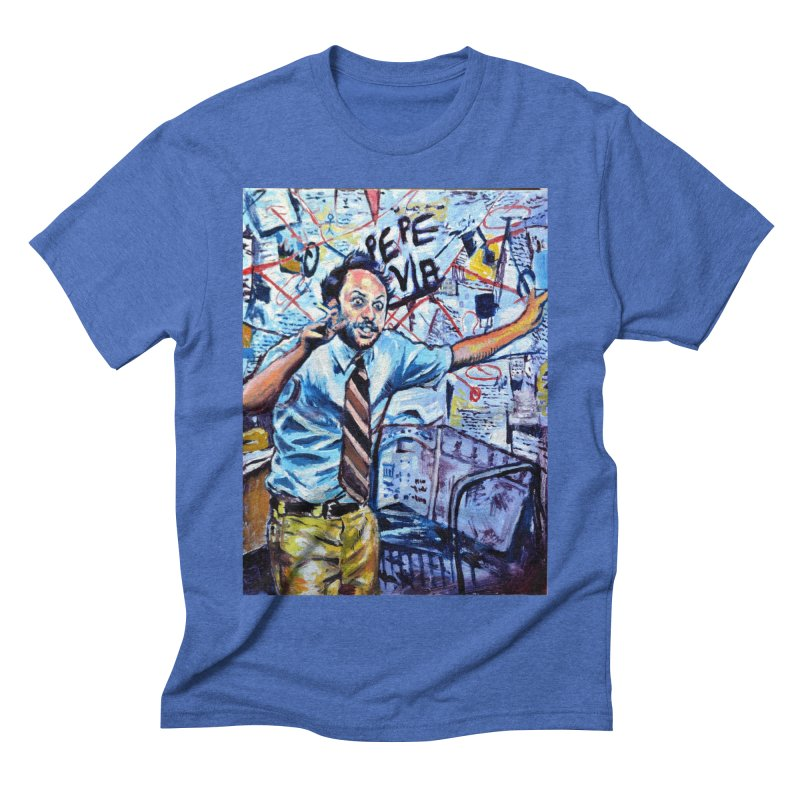 """boxes Men's T-Shirt by Art Prints by Seamus Wray available under """"Home"""""""