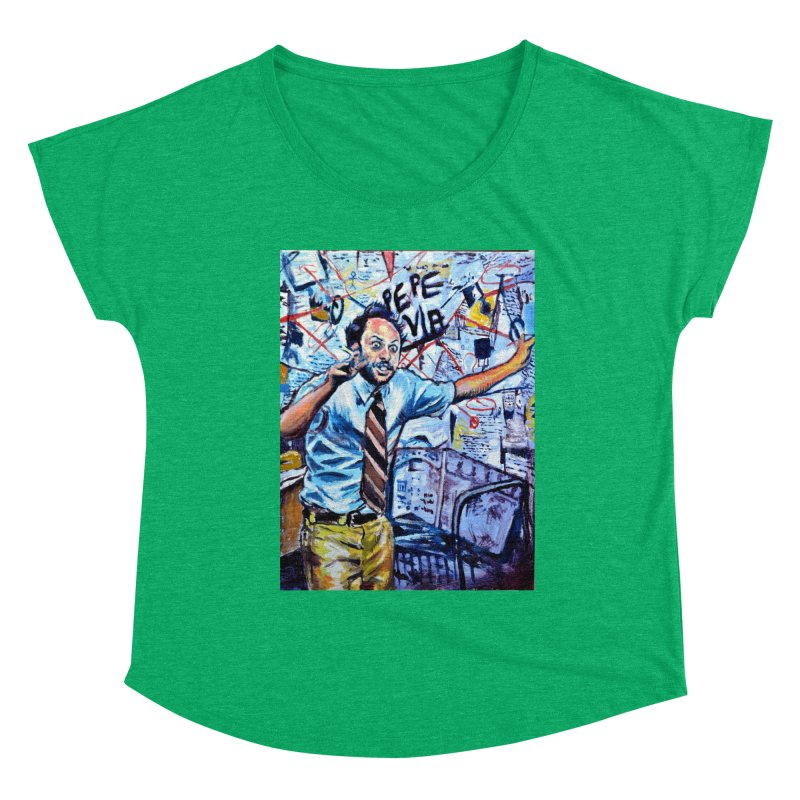 """boxes Women's Scoop Neck by Art Prints by Seamus Wray available under """"Home"""""""