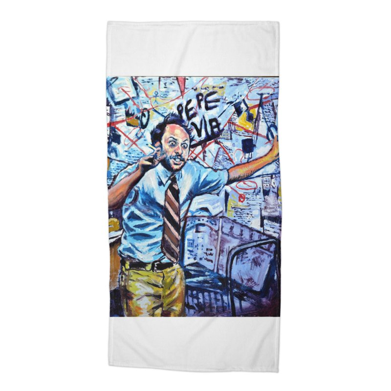 """boxes Accessories Beach Towel by Art Prints by Seamus Wray available under """"Home"""""""