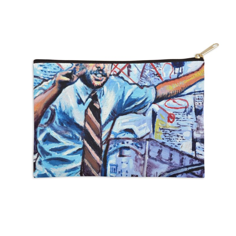 """boxes Accessories Zip Pouch by Art Prints by Seamus Wray available under """"Home"""""""